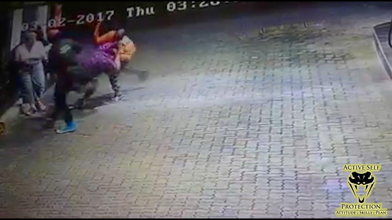 Family Survives Ambush Machete Attack | Active Self Protection