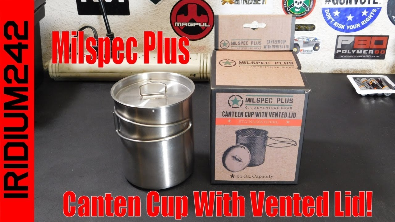 Budget Prepping:  Milspec Plus Canteen Cup