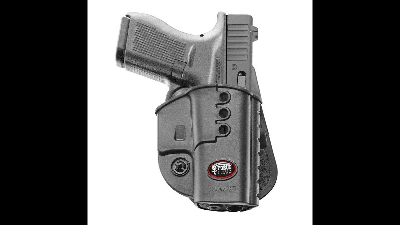 FOBUS GL-43-ND OWB HOLSTER REVIEW