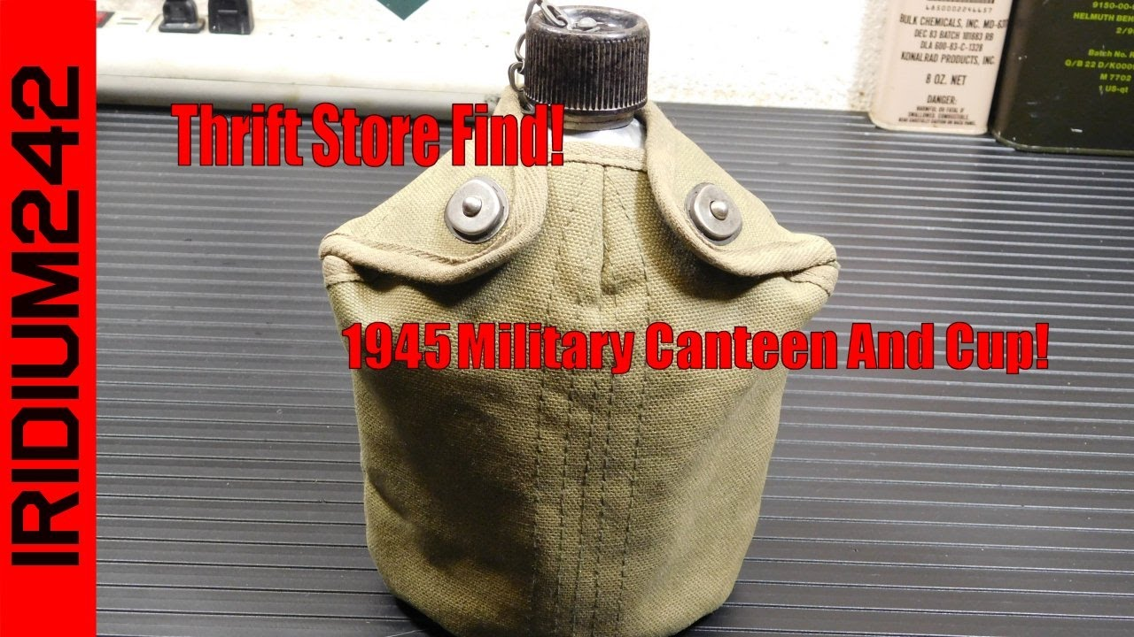 Thrift Store Prepper Find: Military Canteen