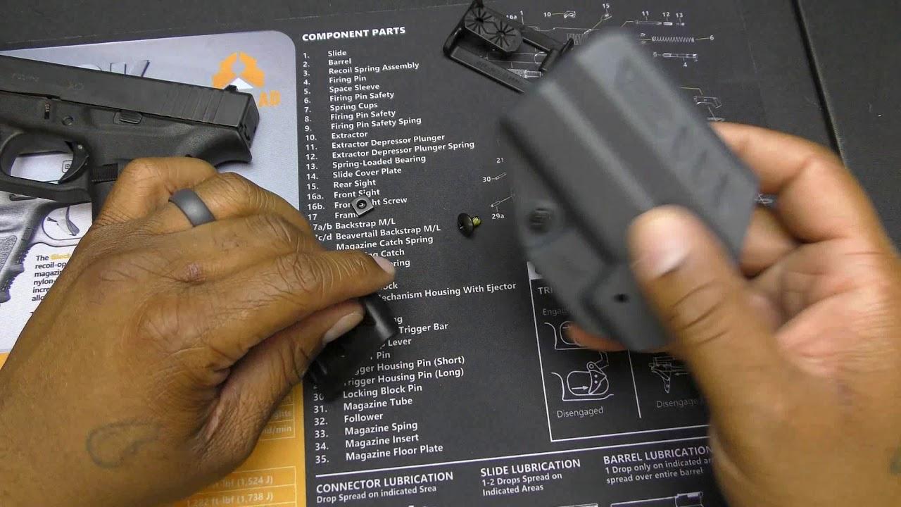 BLACKHAWK G43 HOLSTER REVIEW