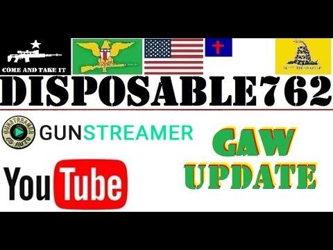 GunStreamer YouTube GAW UPDATE