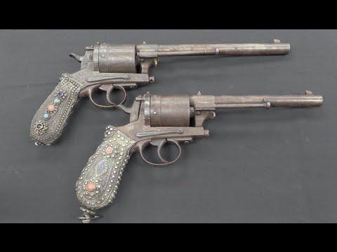 A Pair of Arresting Montenegrin Gasser Revolvers
