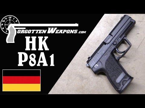 H&K P8A1: The Bundeswehr's USP