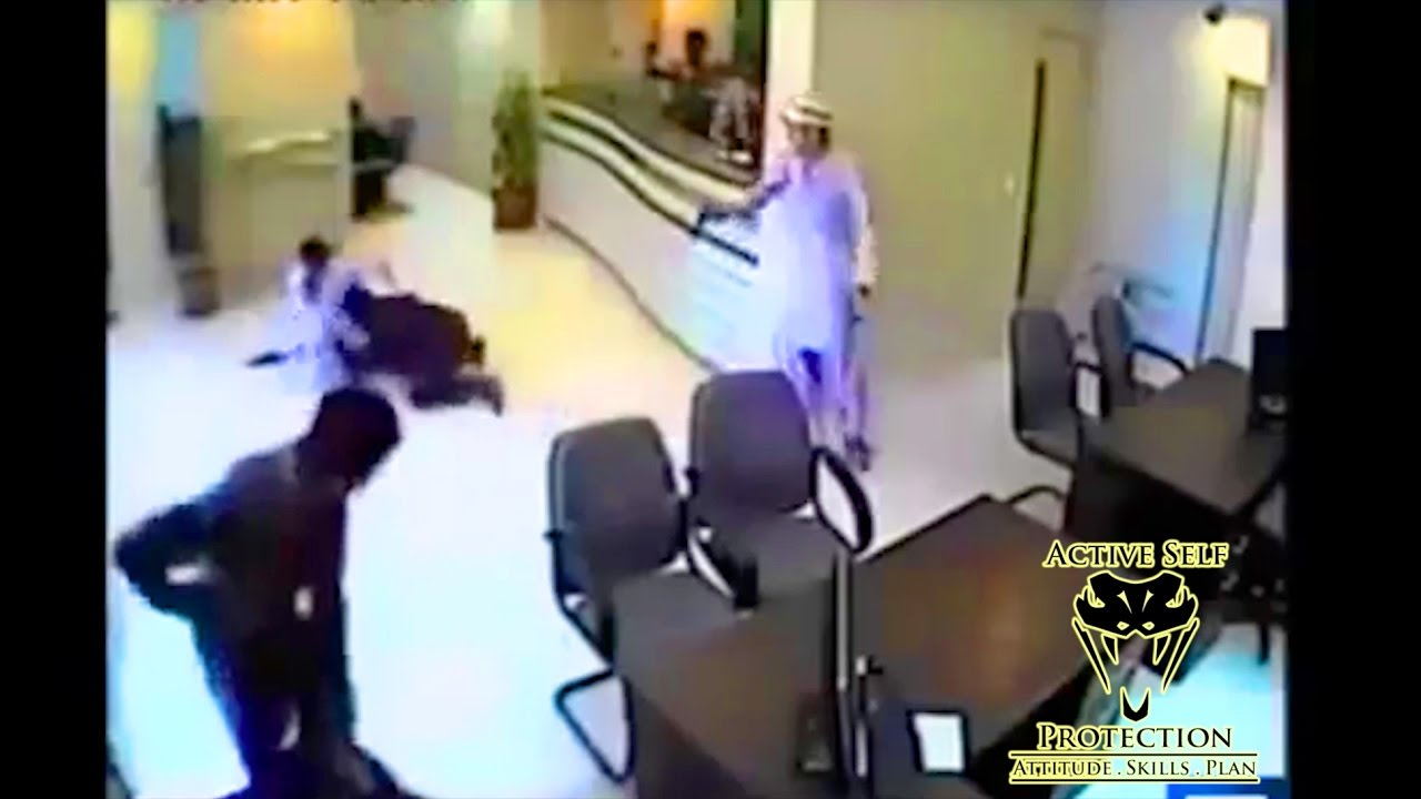 Chaotic Armed Robbery Caught on Video