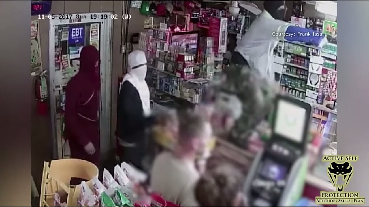 Store Owner Finds His Opportunity to Turn the Tables on Robbers | Active Self Protection