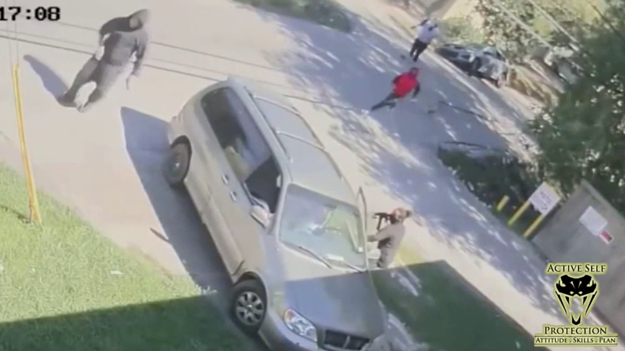 Crazy Carjacking of Woman and 11-Month-Old Niece Caught on Camera | Active Self Protection