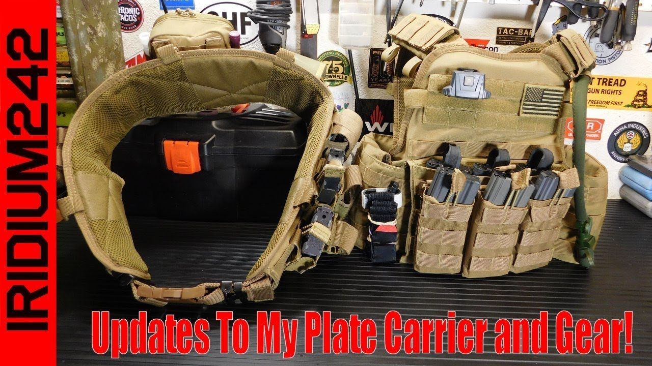 Updates To My Plate Carrier And Gear!