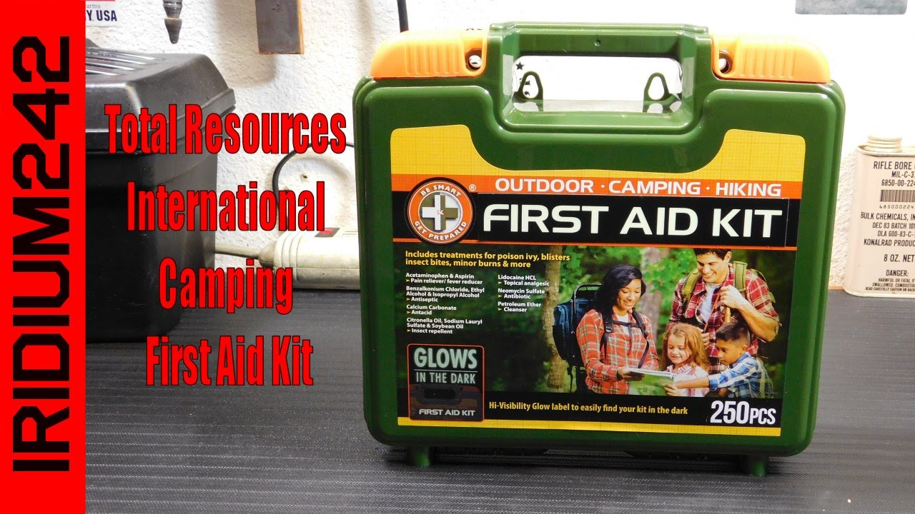 Total Resources International Camping First Aid Kit