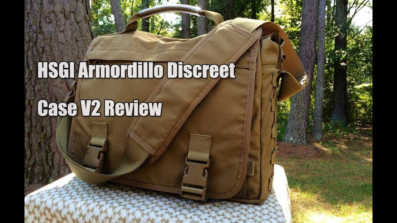 HSGI Armordillo Discreet Case V2 Review