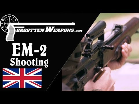 Shooting the EM-2 in .280 British