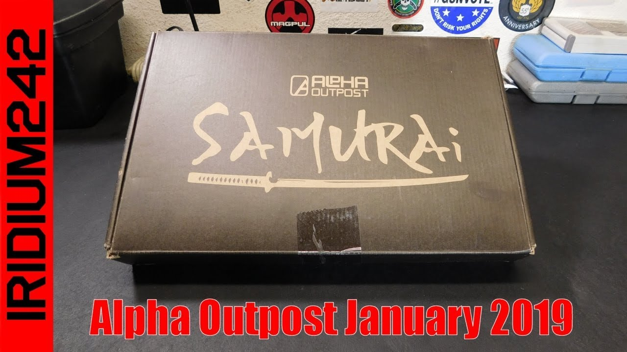 Alpha Outpost Box January 2019