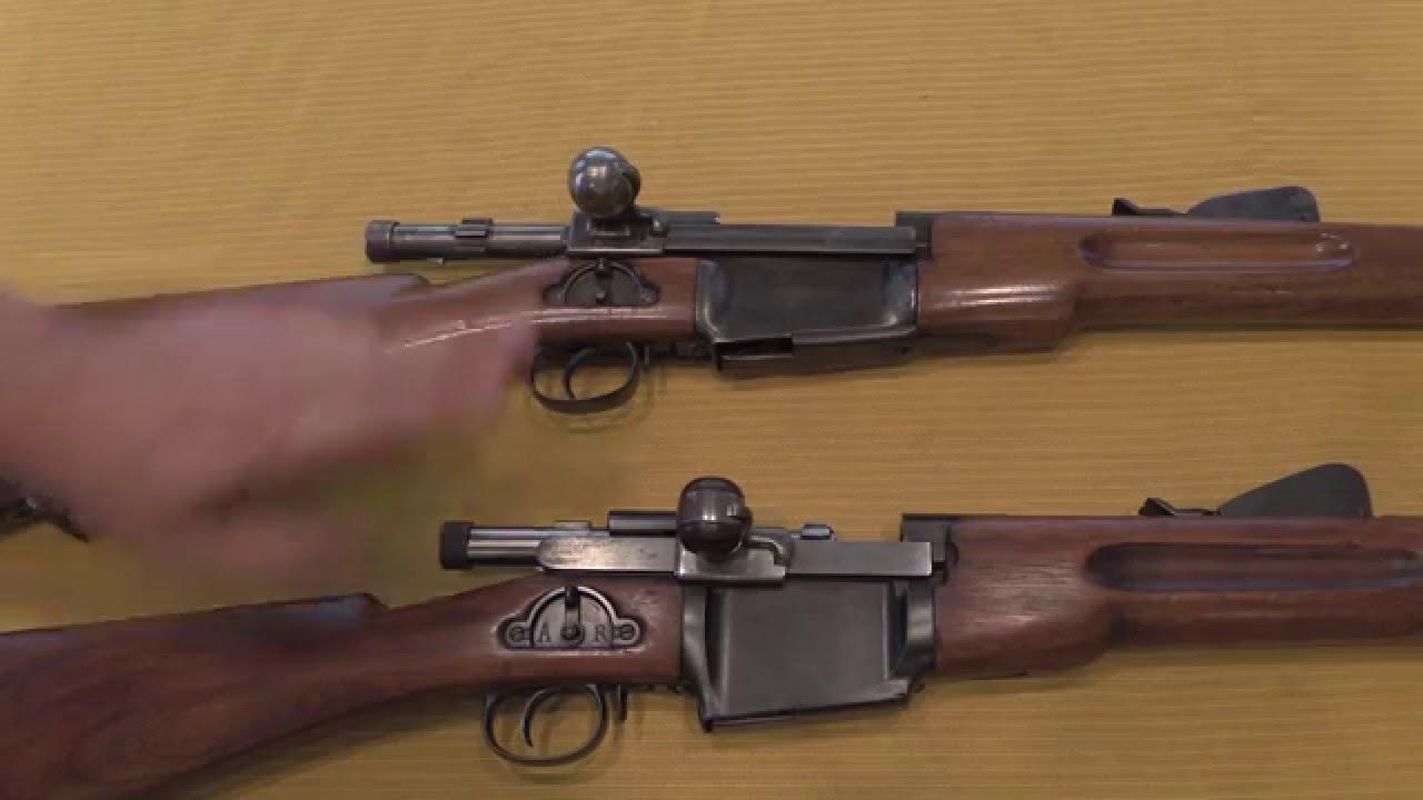 Mondragon 1894 Bolt Action Straight-Pull Rifles