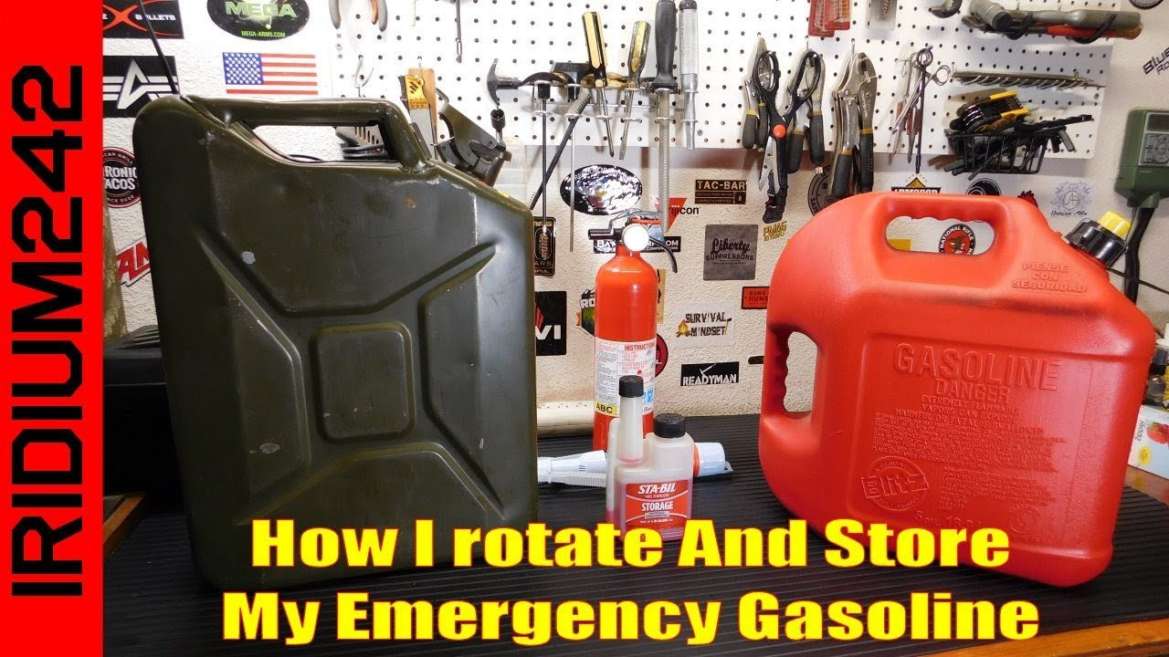 How To Rotate And Store Your Gas Preps