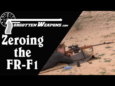 Zeroing the FR-F1