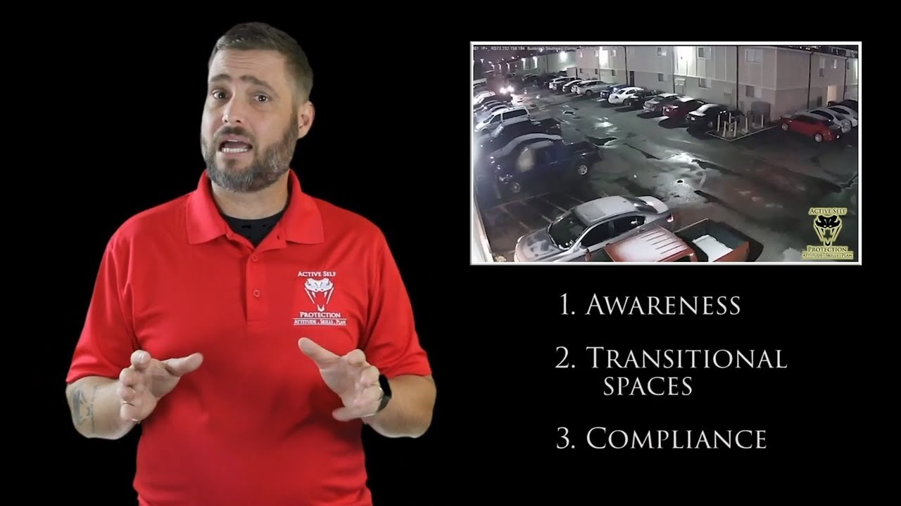 Awareness Is Essential Especially In Transitional Spaces | Active Self Protection