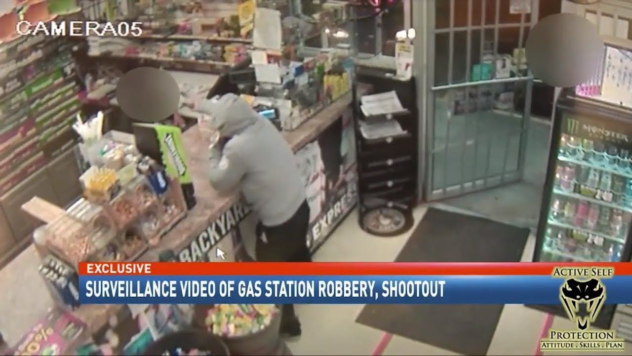 Clerk Misses Robber from Two Feet | Active Self Protection