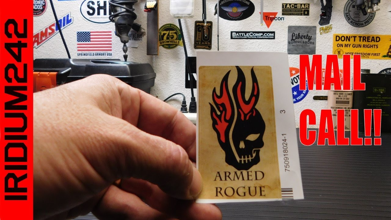 Mail Call: Stickers From Armed Rogue!!