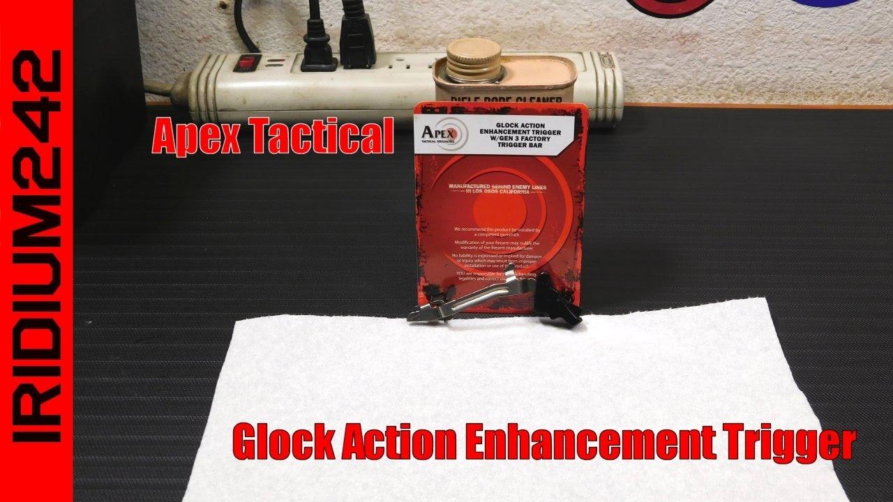Apex Glock Action Enhancement Trigger Review!