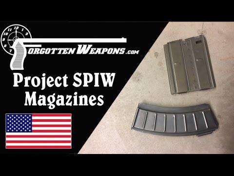 Two Strange Project SPIW Magazines