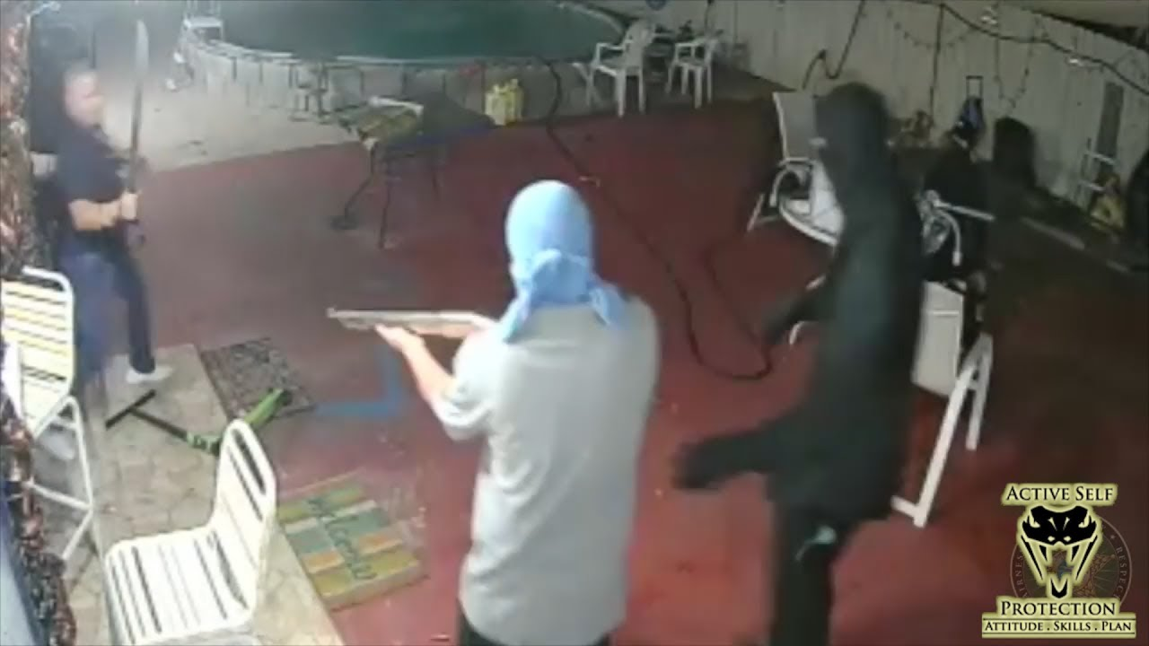 Home Invaders Stopped by Armed Home Owner | Active Self Protection