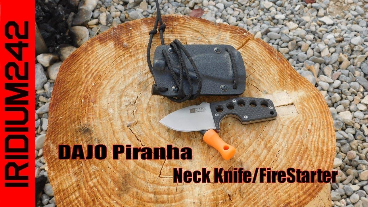 The DAJO Piranha Neck Knife
