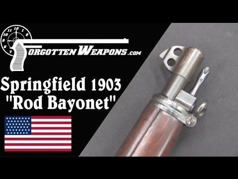 Rod Bayonet Springfield 1903 (w/ Royalties and Heat Treat)
