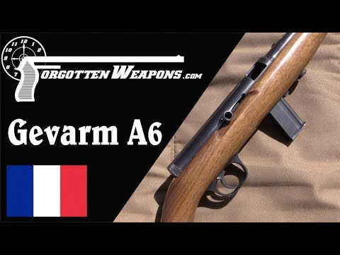 Gevarm A6: An Open Bolt Semiauto .22 Sporting Rifle