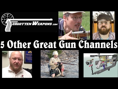 Five Excellent YouTube Gun Channels you Might not Know About...