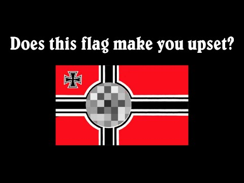 Blurred-out Flag Controversy