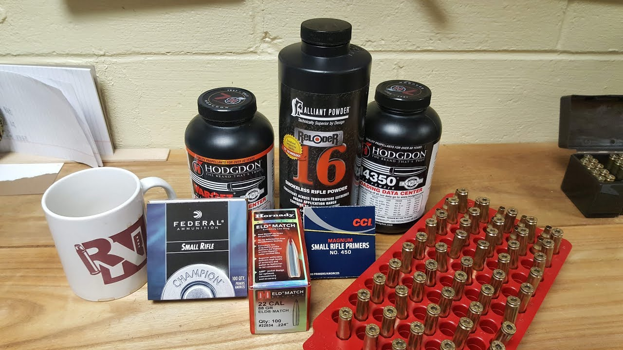 224 Valkyrie - Load Development - Hornady 88 gr ELD-Match