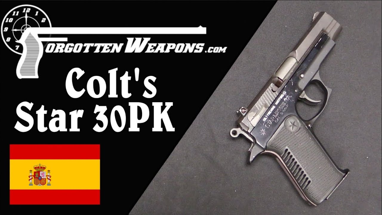 Colt Checks out the Spanish Wondernine: the Star 30PK