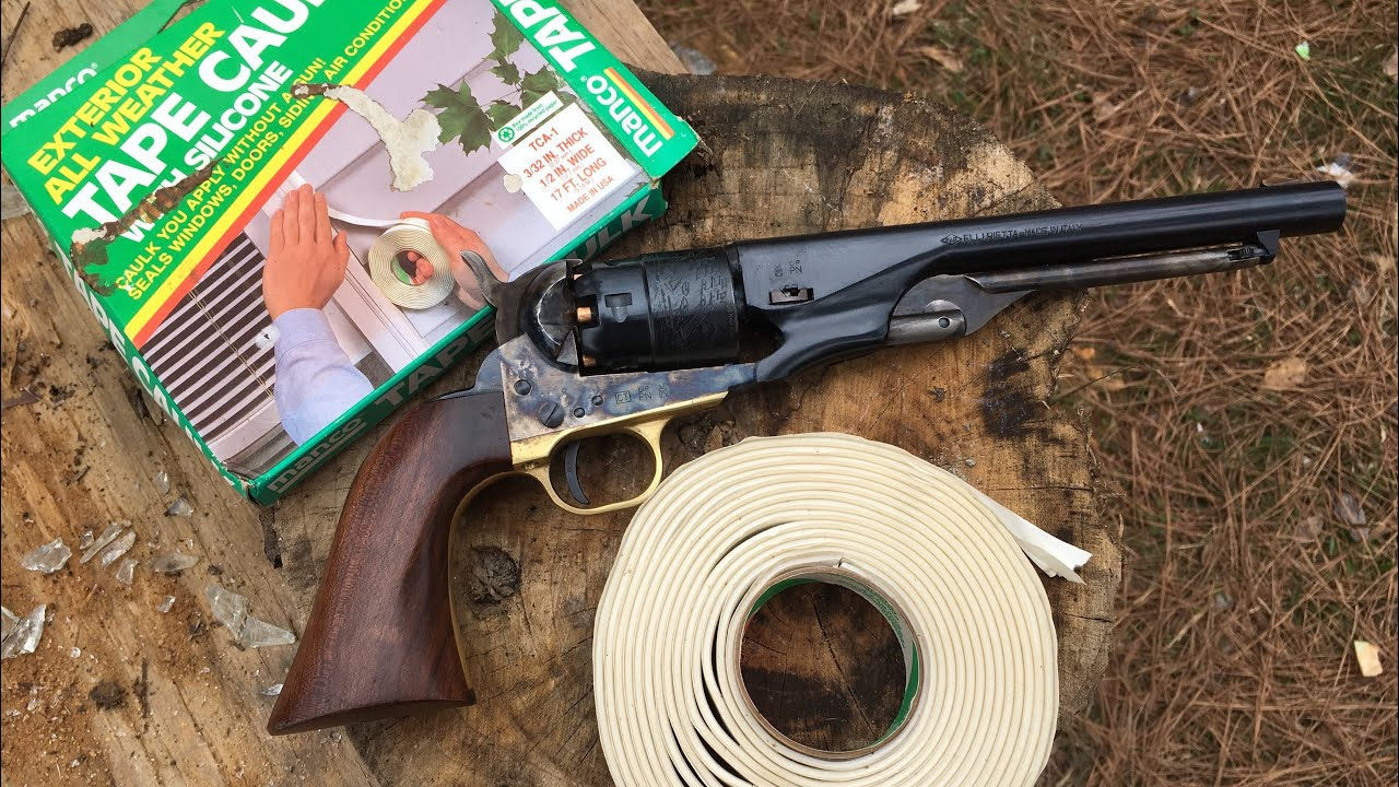 Shooting aerial targets with 1860 cap and ball revolver