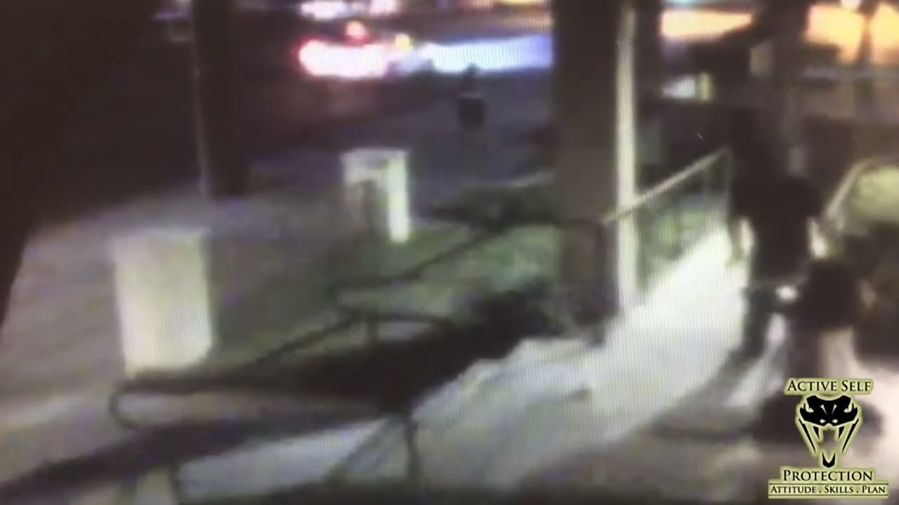 Attack on Woman Caught on CCTV   Active Self Protection