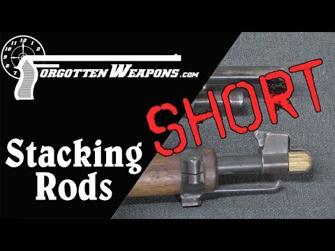 Forgotten Weapons Short: Stacking Rods & Stacking Swivels