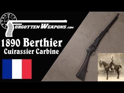 Modele 1890 Berthier Cuirassier Carbine