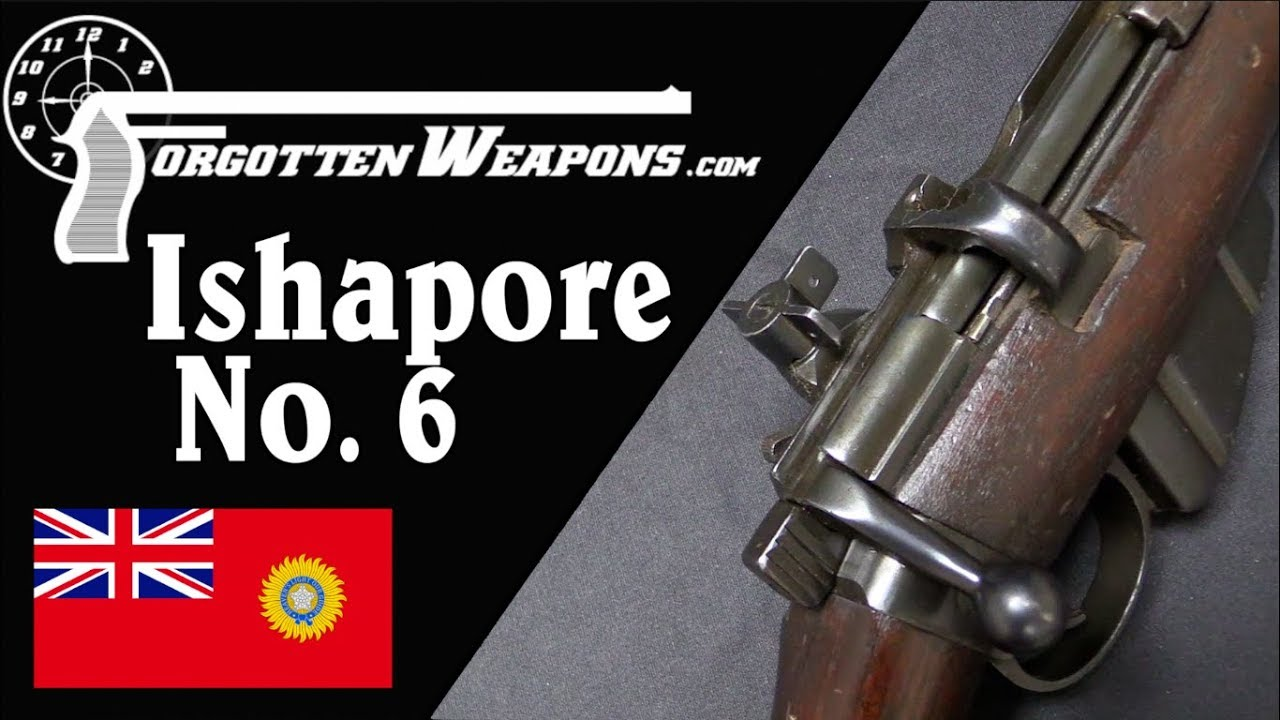Ishapore No6 Jungle Carbine SMLE Prototype