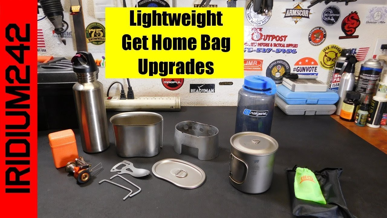 Lightweight Get Home / Bug Out Bag Upgrades