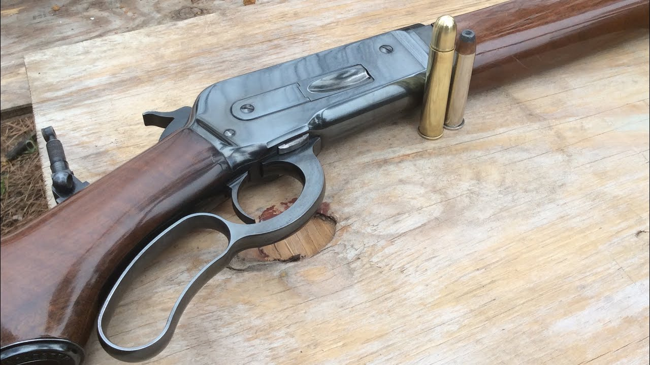 535 grain Barnes banded solid vs clay, from an 1886 Winchester caliber 50 express lever action