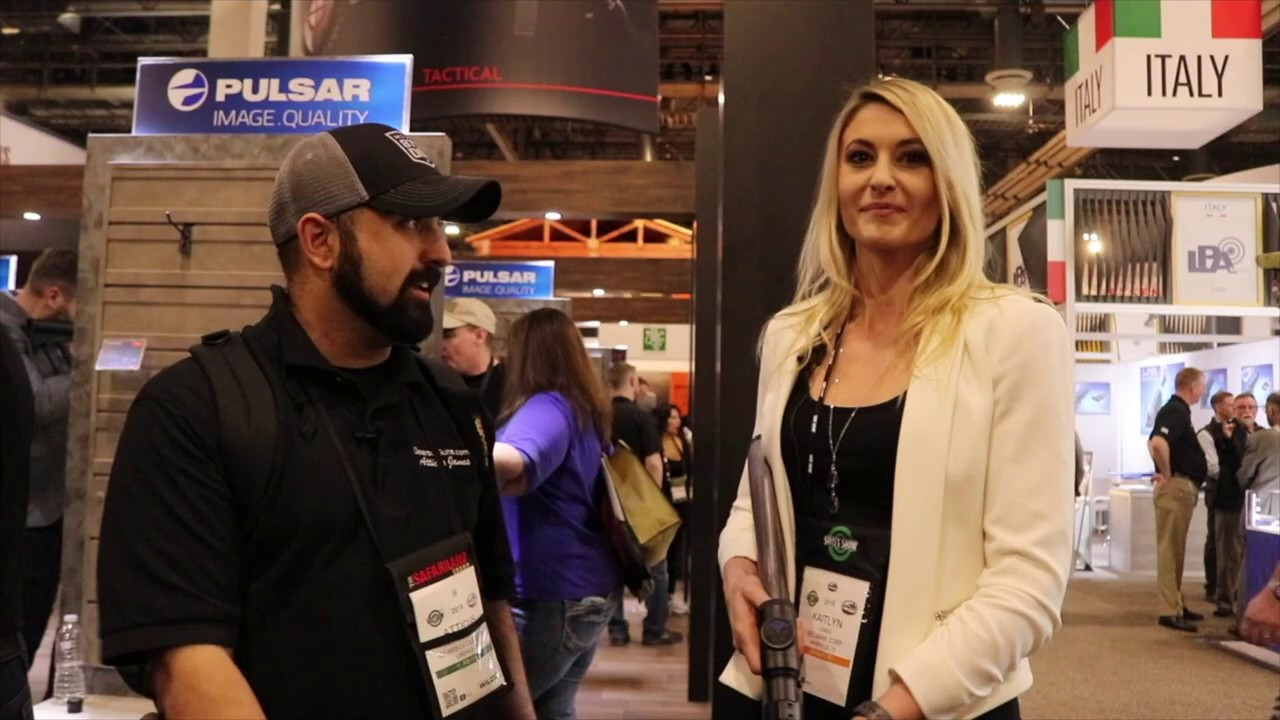 Talking with Kaitlyn from Pulsar about their new thermals - SHOT 2019