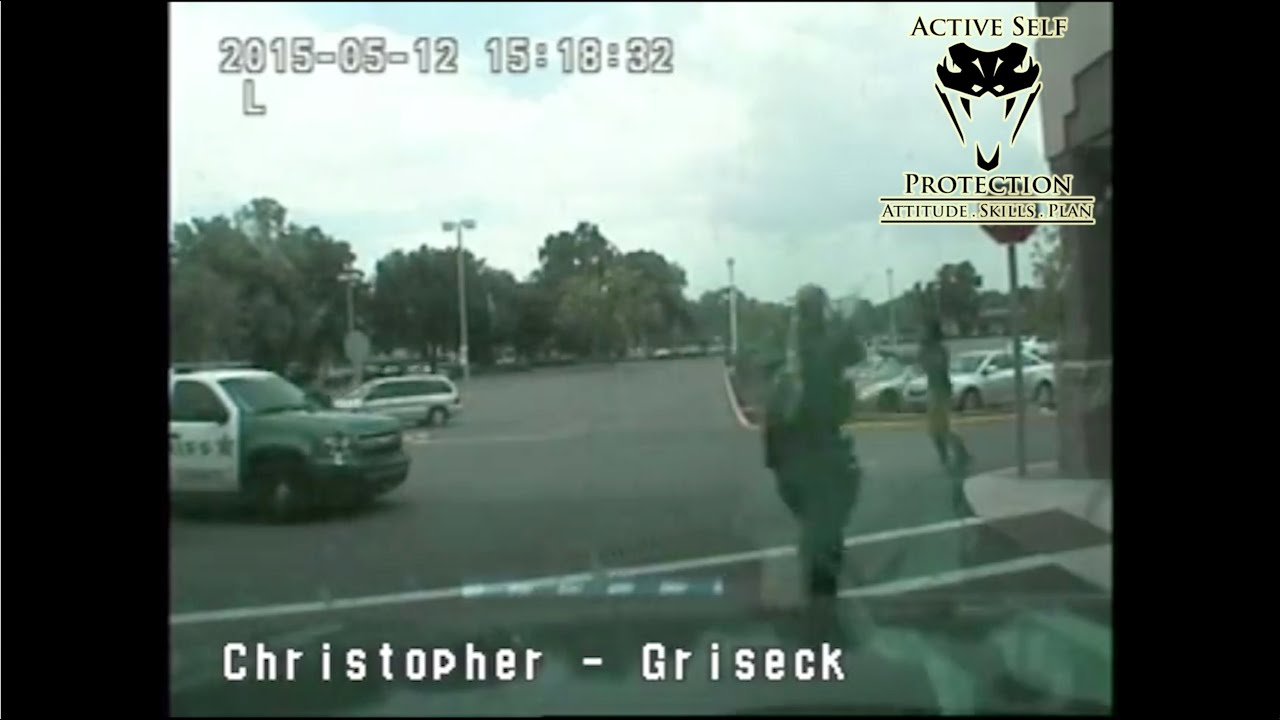 Officer Forced to Shoot Uncooperative Armed Robbery Suspect
