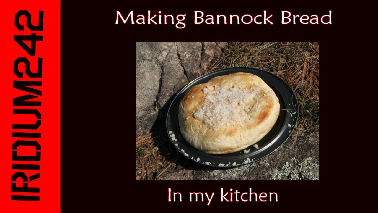 Making Bannock Bread