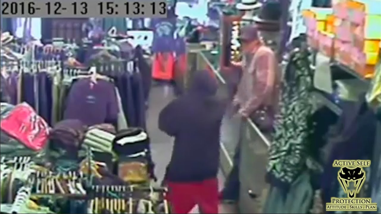 Guts and Luck Win the Day in Armed Robbery | Active Self Protection