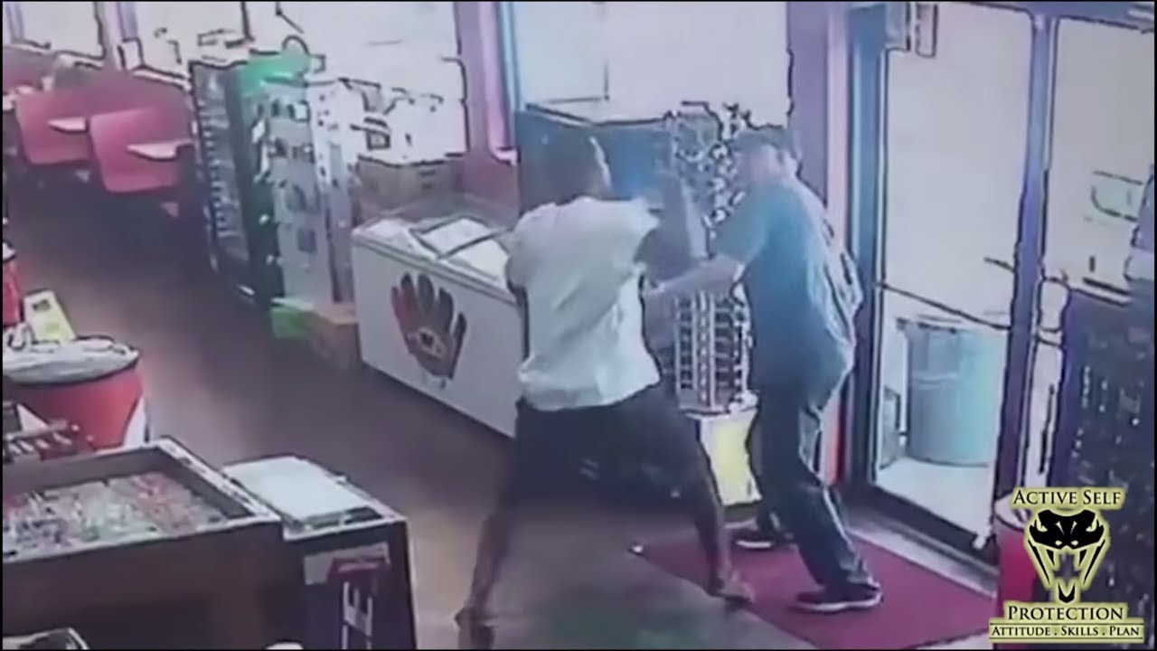 Robber Has No Mercy on Victim | Active Self Protection