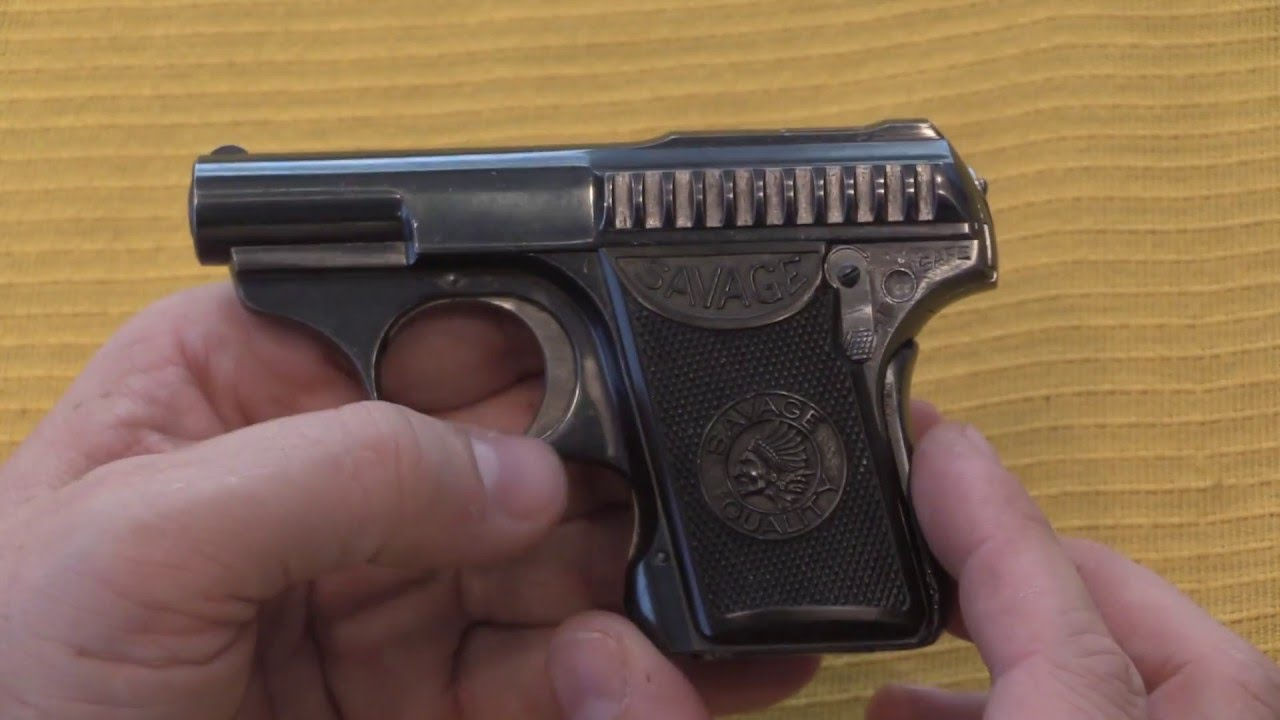 Savage .25ACP Automatic Pistol