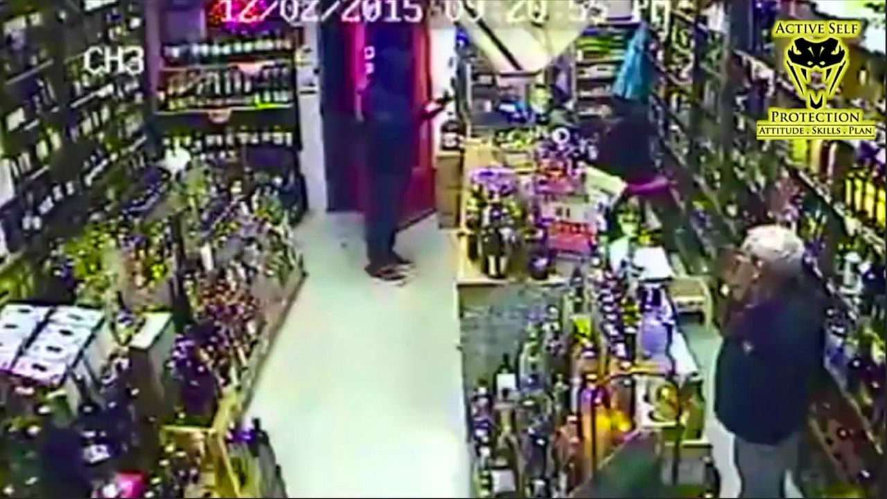 Armed Robber Wasn't Expecting Armed Store Owner