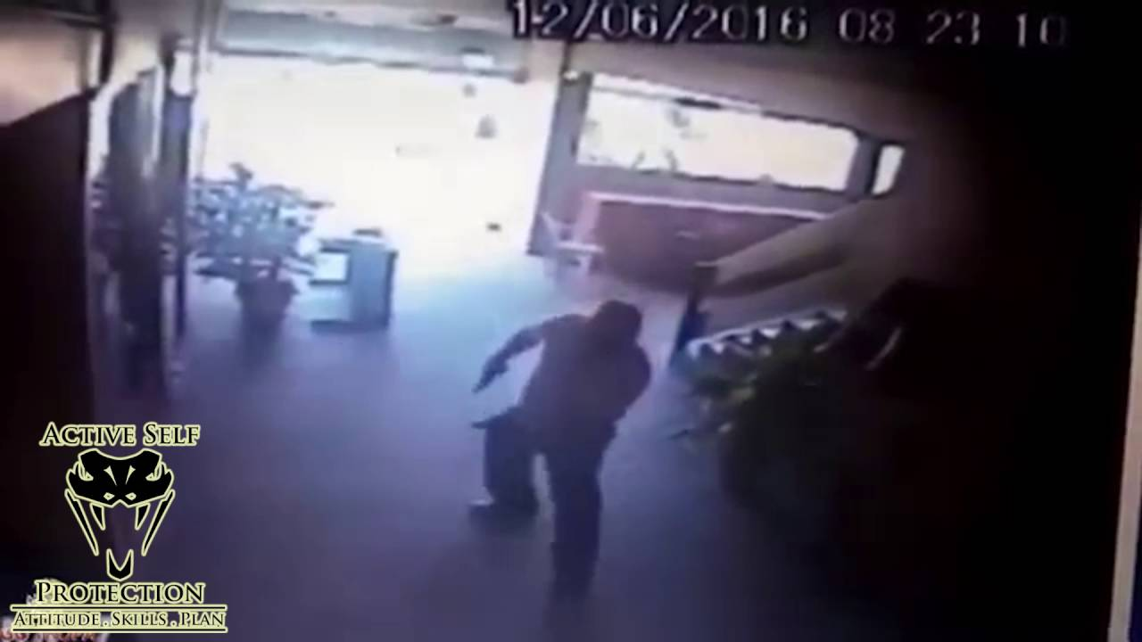 Armed Robbers Counter Ambushed by Armed Guard