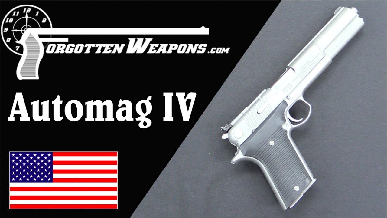 AMT Automag IV - A Browning in .45 Winchester Magnum