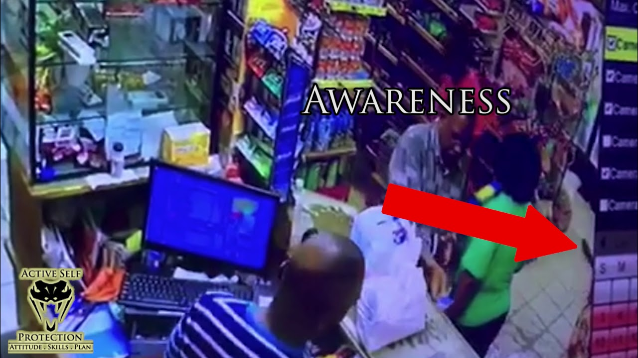 Store Owner Uses His Store and His Wits to Stop Angry Man | Active Self Protection