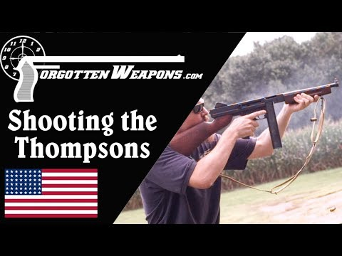 Shooting the Thompsons: Comparing the 1921, 21/28, and M1A1